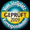 Vom Stellplatzkorrespondenten 2009 geprüft